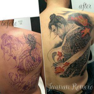 Estudio de tatuajes en móstoles