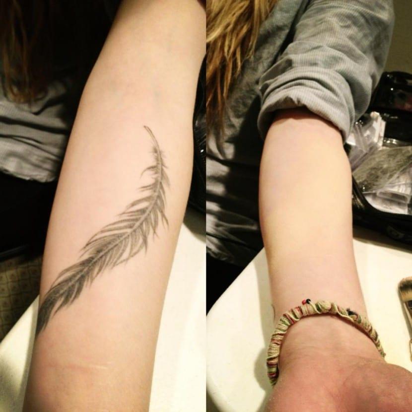 maquillaje para tatuajes